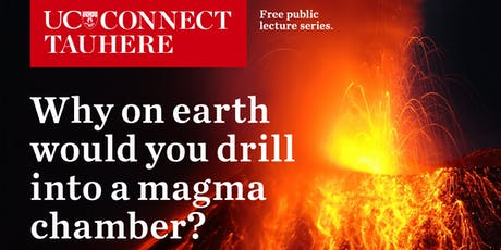 UC Connect: Why on earth would you drill into a magma chamber? tickets