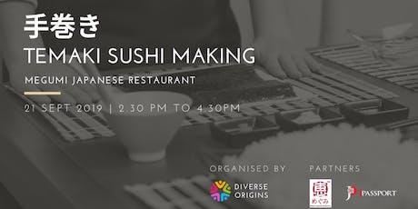 Temaki Sushi + Japanese Meetup tickets