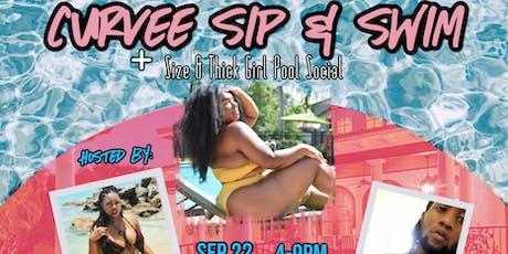 Curvee Sip & Swim tickets