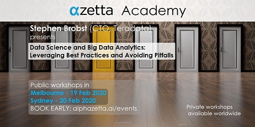 Data Science and Big Data Analytics: Best Practices and Avoiding Pitfalls - Sydney