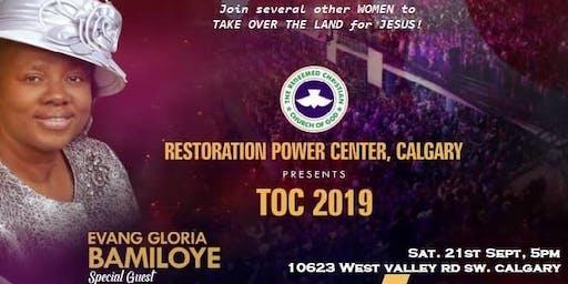 Calgary Ladies Conference with GLORIA BAMILOYE (TOC 2019)