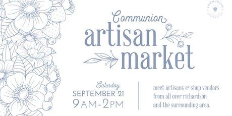 Artisan Market by Communion tickets