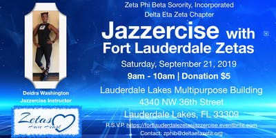 Jazzercise with Fort Lauderdale Zetas