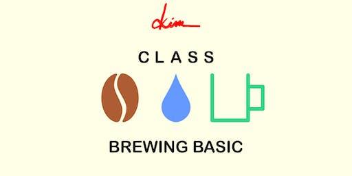 Class - Coffee Brewing Basic