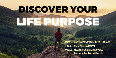 DISCOVER YOUR LIFE PURPOSE  tickets