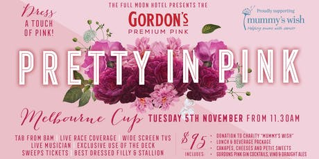 Melbourne Cup: Pretty in Pink with Gordon's Pink Gin + Charity Mummy's Wish tickets