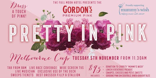 Melbourne Cup: Pretty in Pink with Gordon's Pink Gin + Charity Mummy's Wish