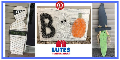 High River Lutes Timber Mart Pinterest Night: Pick Your Halloween Project tickets