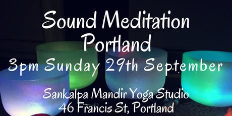 Sound Meditation Portland ~ New Moon tickets
