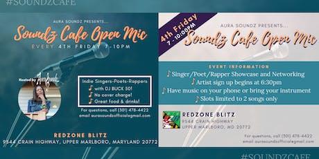 Soundz Cafe Open Mic tickets