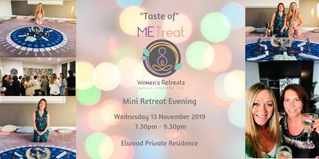 'Taste of METreat' November Mini Retreat Evening tickets