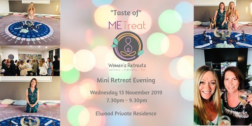 'Taste of METreat' November Mini Retreat Evening