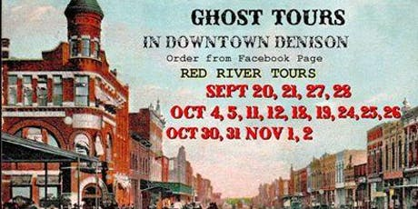 Red River Tours Presents: Haunted Denison Ghost Tour tickets