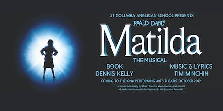 SCAS Production of Matilda, Saturday 26th October Matinee tickets