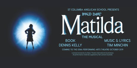 SCAS Production of Matilda, Saturday 26th October Evening tickets