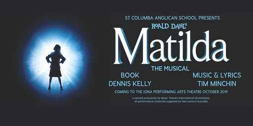 SCAS Production of Matilda, Saturday 26th October Evening