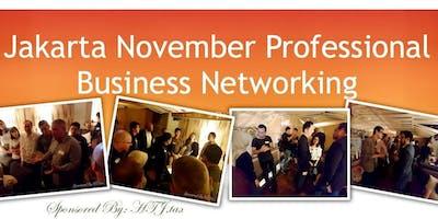 Jakarta November Professional Business Networking.
