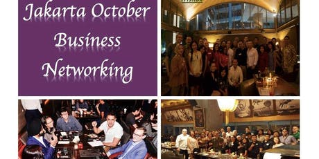 Jakarta October Professional Business Networking tickets