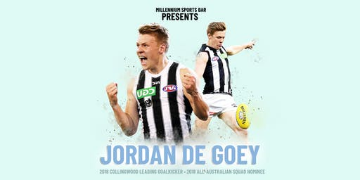 JORDAN DE GOEY at Millennium Sports Bar