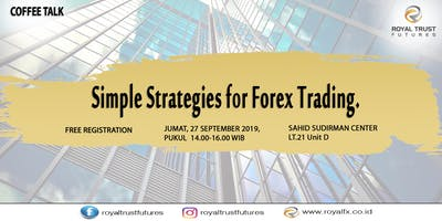 Simple Strategies For Forex Trading