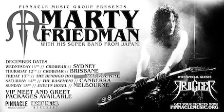 Marty Friedman - Melbourne (13th December TRIGGER Discount Tickets) tickets