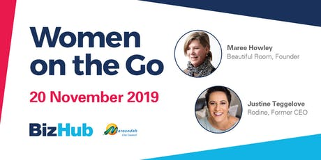 Women on the Go: Celebrating the importance of women in business tickets