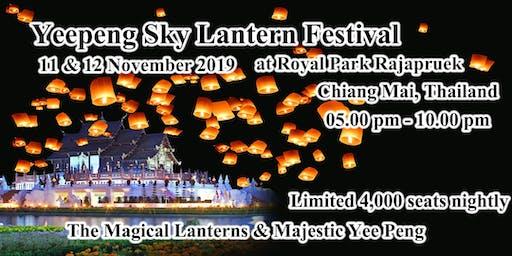 The Magical Lanterns & Majestic Yi Peng at Royal Park Rajapruek Chiang Mai