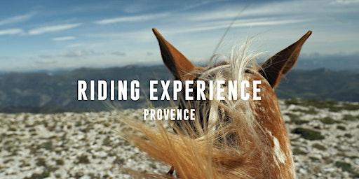 RIDING experience V.