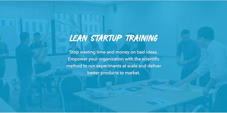 Lean StartUp Training for Companies Melbourne tickets