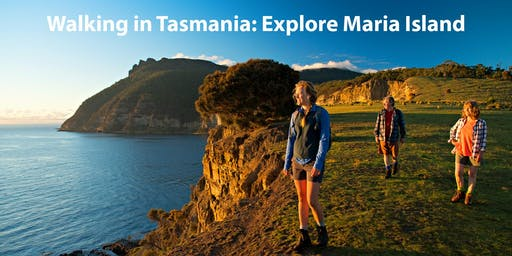 Walking in Tasmania: Explore Maria Island