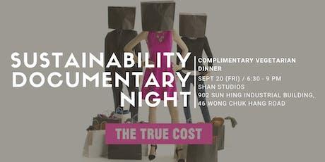 "Shan Studios: Sustainability Documentary Night - ""The True Cost"" tickets"