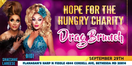 Sionne's Heart Inc. Presents: The Hope For The Hungry Charity Drag Brunch tickets