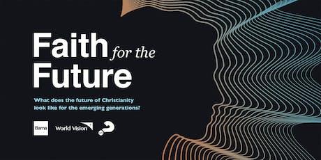 Faith for the Future - Sydney tickets
