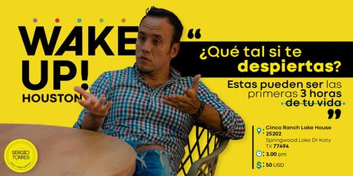 Wake Up Seminar - Sergio Torres (Español)