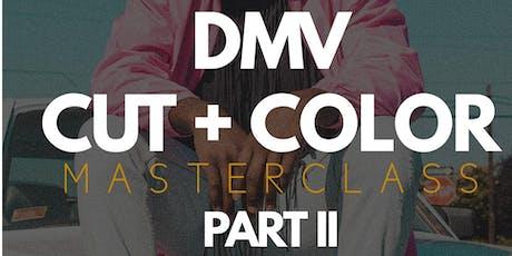 GUIDED HANDS PRESENTS: DMV CUT + COLOR MASTERCLASS PART II tickets