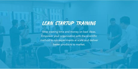 Lean StartUp Training for Companies London tickets