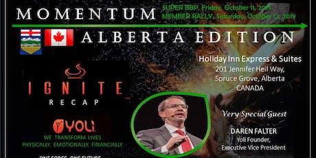 Yoli Momentum : Alberta Edition tickets