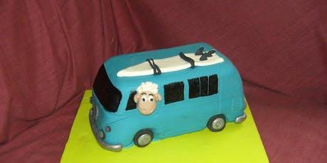 Cake Decorating: combie van tickets