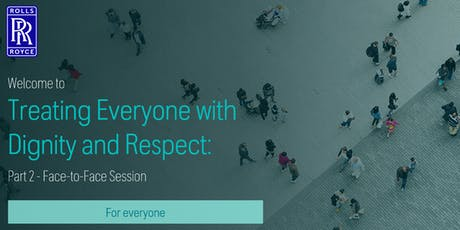 Services - Treating Everyone with Dignity and Respect tickets