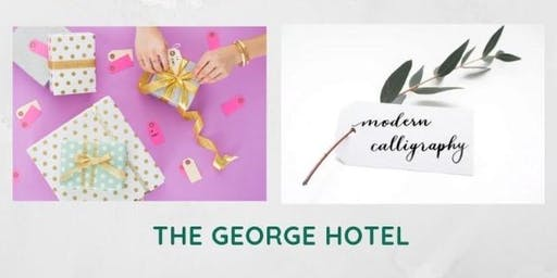 Gift Wrapping & Modern Calligraphy Workshop