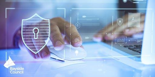 Rockdale Library--Introduction to Cyber Safety--حماية نفسك على الإنترنت