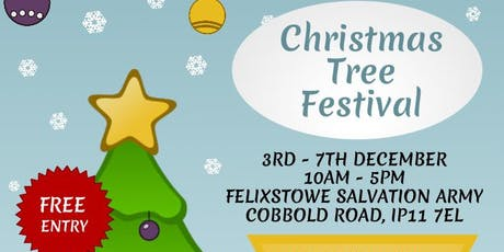 Charity Christmas Tree Festival tickets