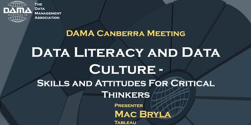 Data Literacy and Data Culture - Skills and attitudes for critical thinkers