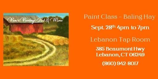 Paint Class - Baling Hay