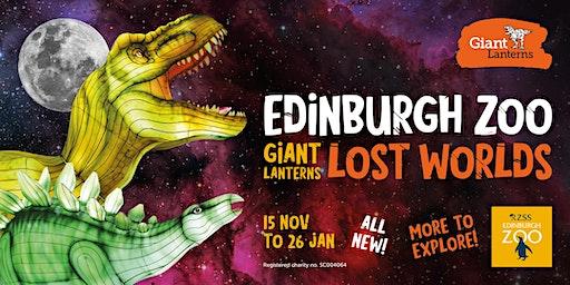 Giant Lanterns - Lost Worlds - 19th December (Off Peak)