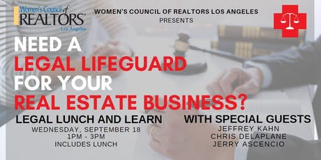 Legal Lifeguard - Legal Panel Lunch with Jeffrey Kahn and Guests tickets