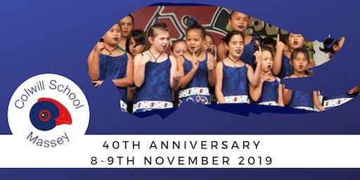 Colwill School Massey 40th Anniversary