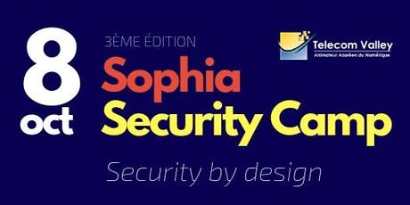 Sophia Security Camp 2019 - Telecom Valley billets