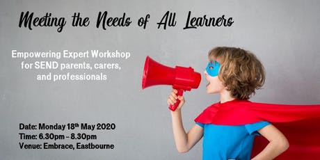 Meeting the Needs of All Learners tickets