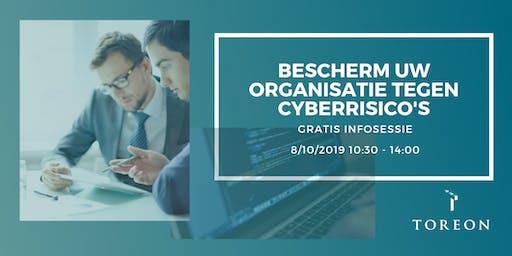 Bescherm uw organisatie tegen cyberrisico's - Gratis Infosessie